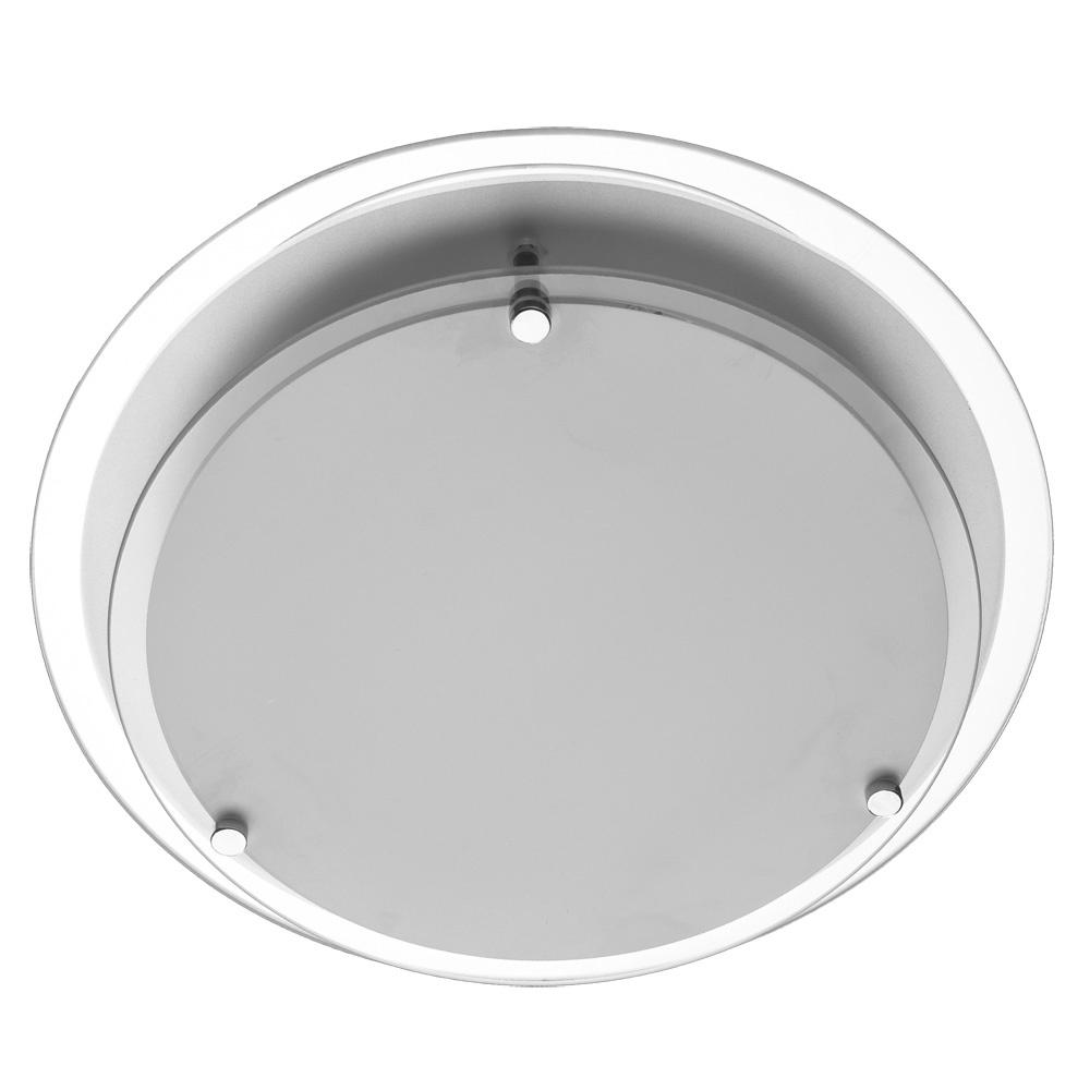 все цены на Настенно-потолочный светильник Arte Lamp A4867PL-2CC, серый металлик онлайн