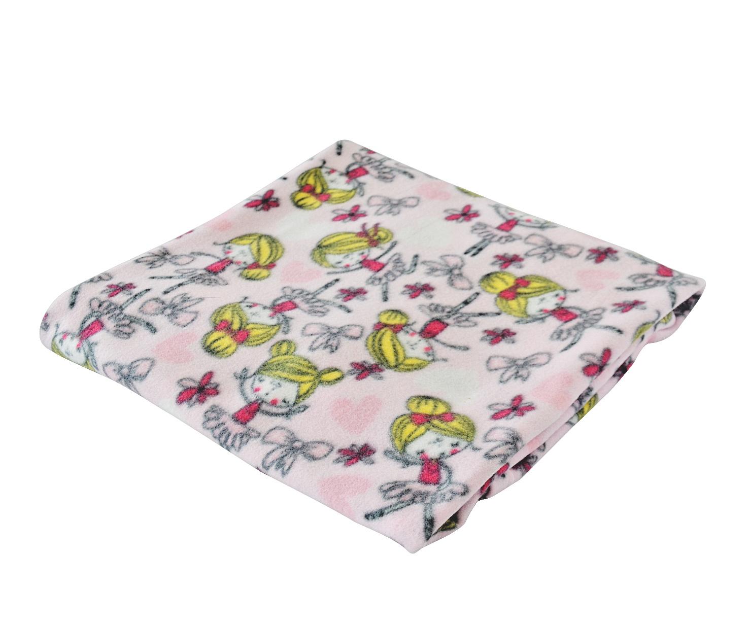 Плед Bonne Fee ПД-100х145/Р, розовый bonne fee плед детский слоны 100 см х 145 см цвет желтый