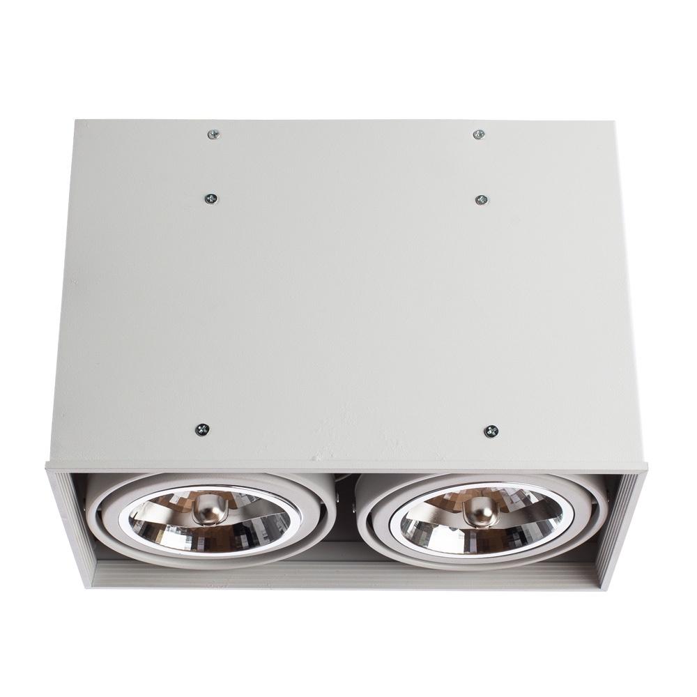 Встраиваемый светильник Arte Lamp A5936PL-2WH, белый потолочный светильник arte lamp cardani a5936pl 1bk