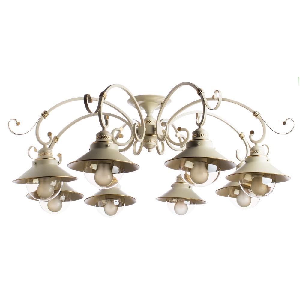 Потолочный светильник Arte Lamp A4577PL-8WG, золотой потолочная люстра arte lamp 7 a4577pl 8wg