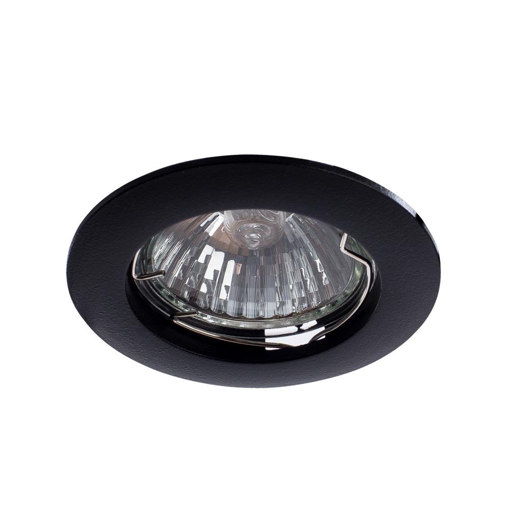 Встраиваемый светильник Arte Lamp A2103PL-1BK, GU10, 50 Вт все цены