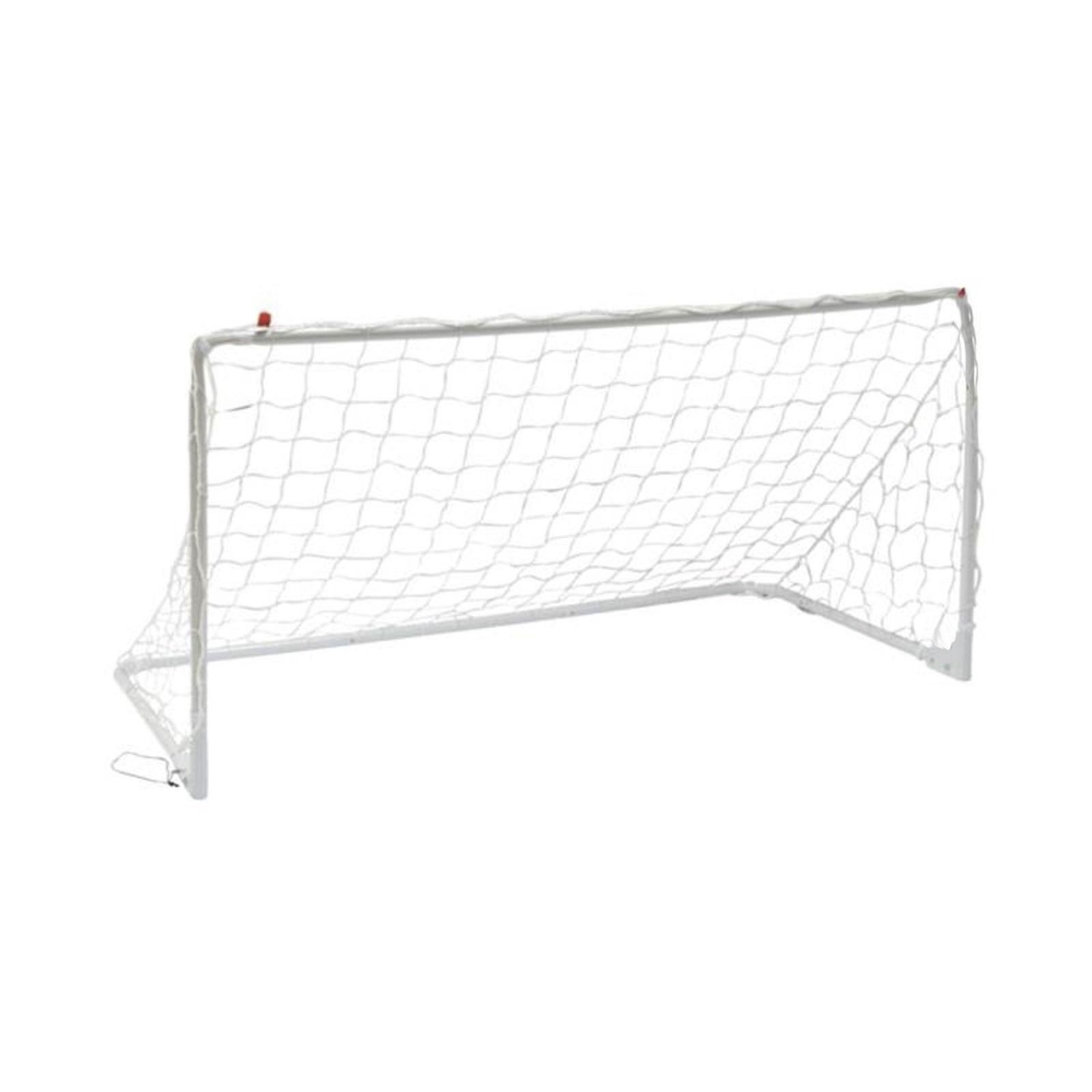 Футбольные ворота DFC складные GOAL240S, белый dfc ворота складные с тентом goal240st