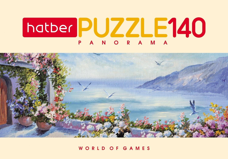 Пазл HATBER Цветущий вид 140 элементов пазл hatber цветущий вид 500пз2 17102 500 элементов