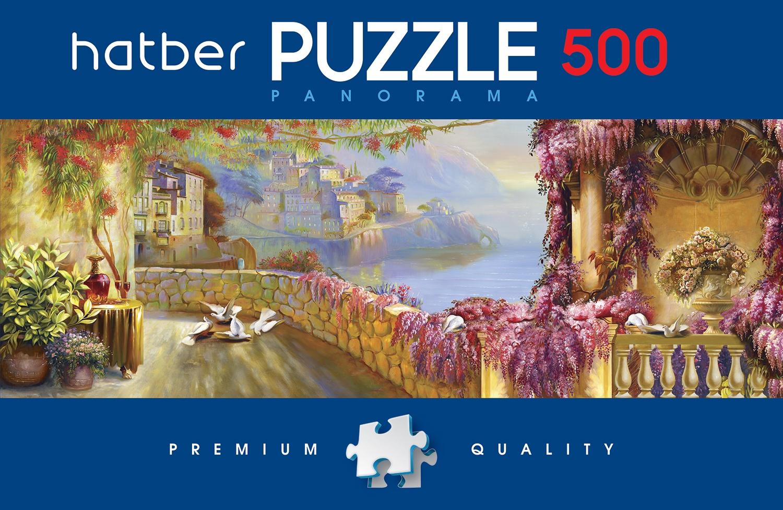 Пазл HATBER Живописные пейзажи 500 элементов пазл hatber цветущий вид 500пз2 17102 500 элементов