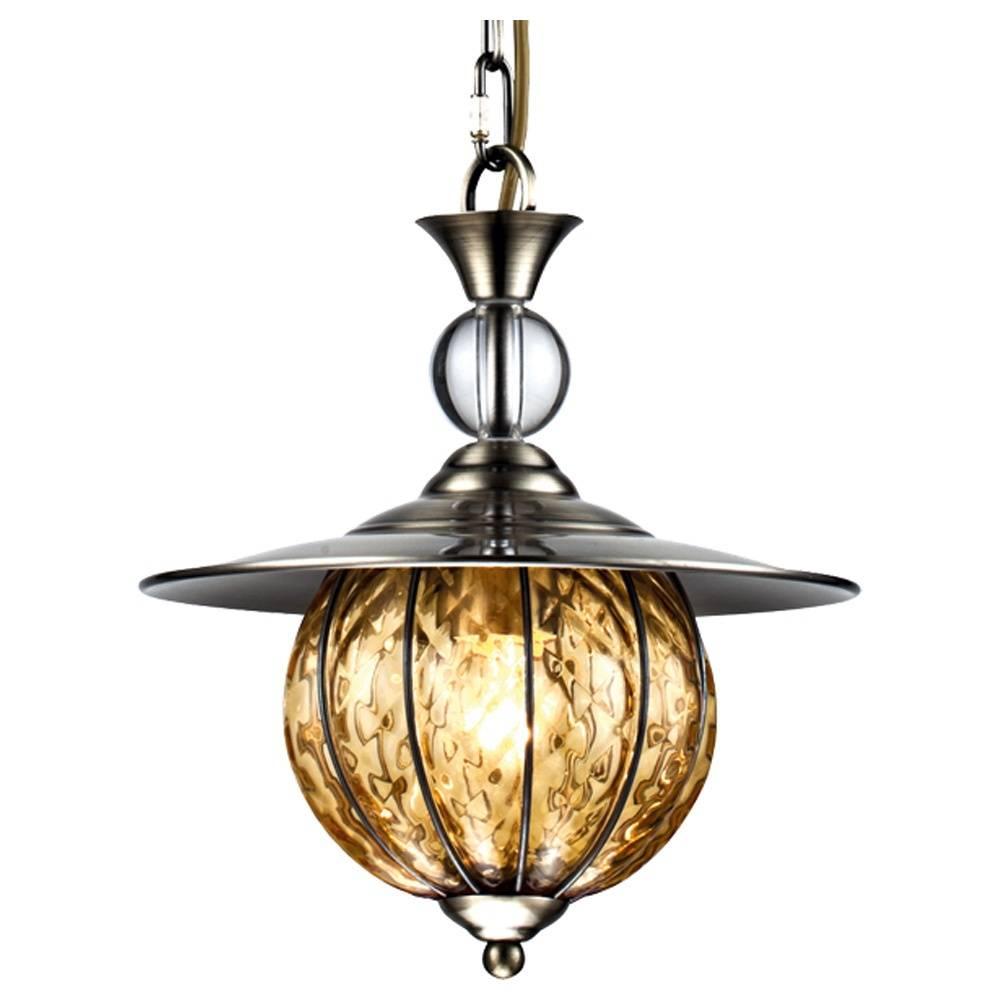 Подвесной светильник Arte Lamp A2114SP-1AB, бронза