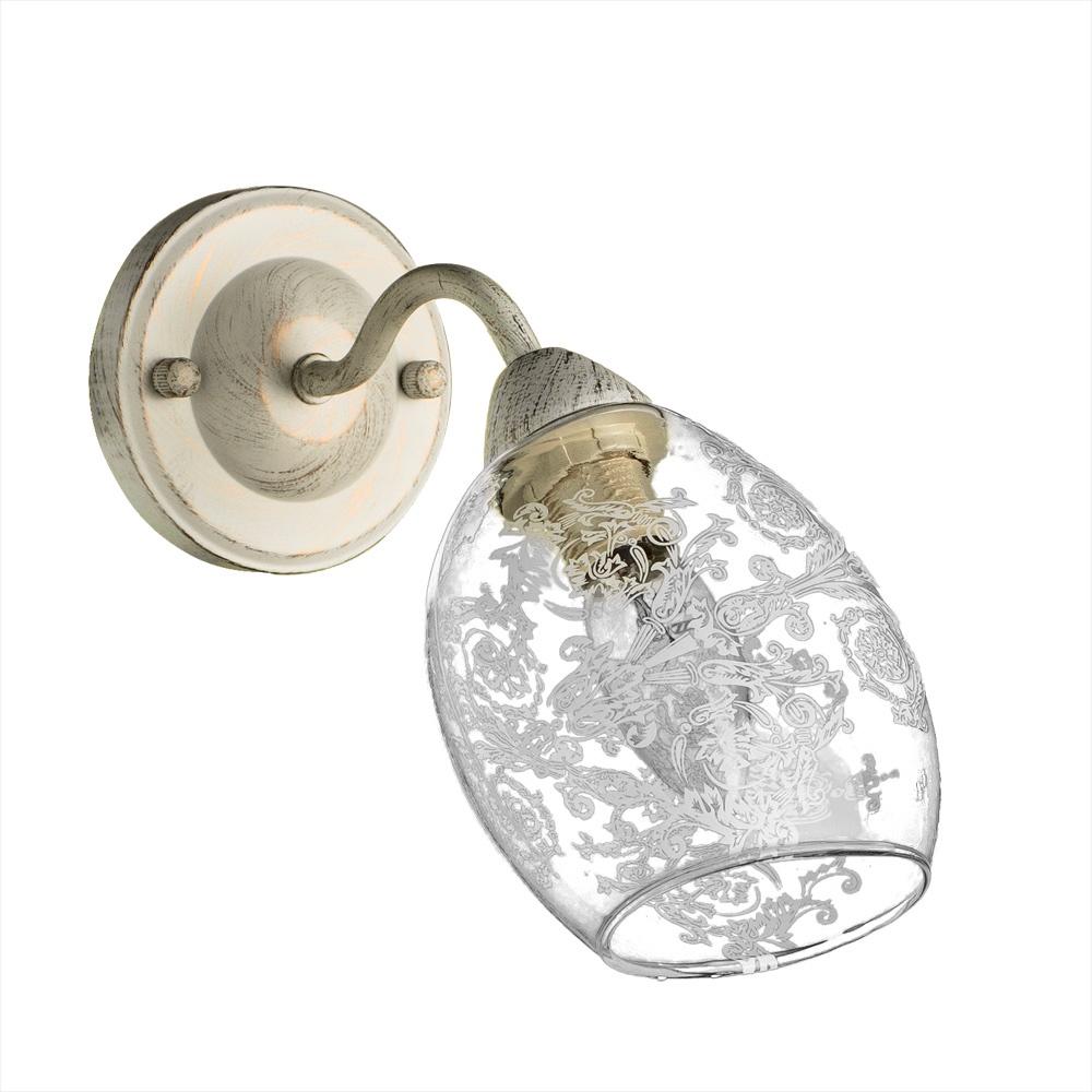 лучшая цена Бра Arte Lamp A1296AP-1WG, E14, 40 Вт