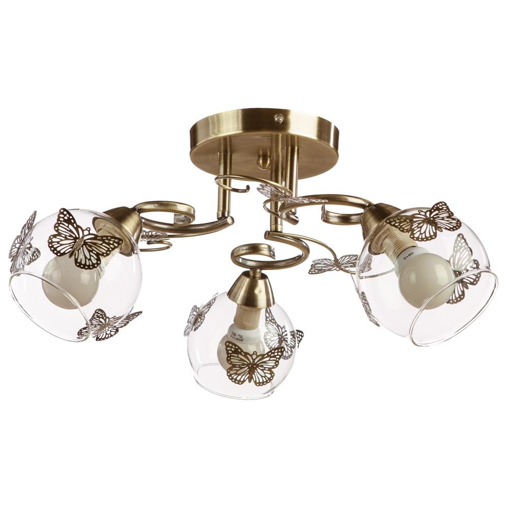 Потолочный светильник Arte Lamp A5004PL-3AB, E14, 40 Вт цена