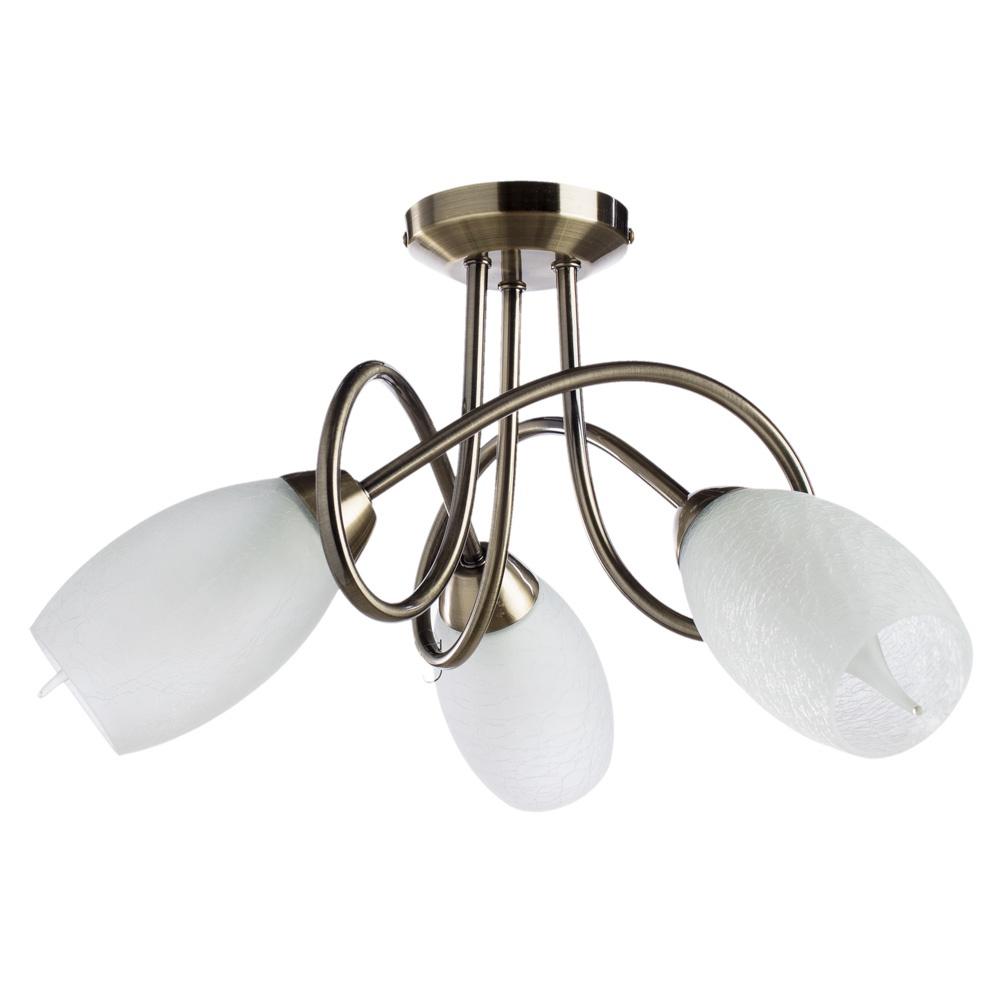все цены на Потолочный светильник Arte Lamp A8616PL-3AB, бронза онлайн