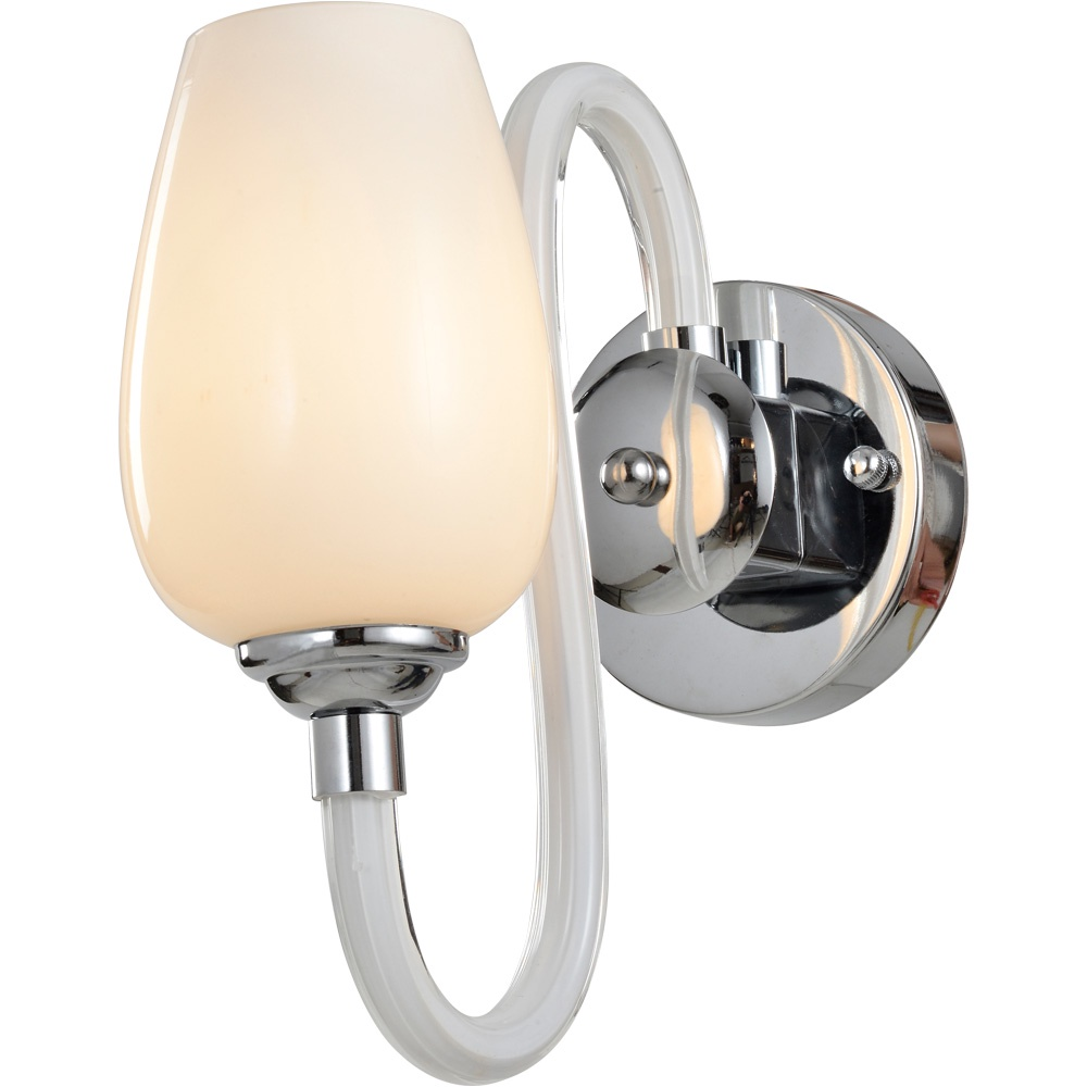 Бра Arte Lamp A1404AP-1WH, белый бра arte lamp prima a9140ap 1wh