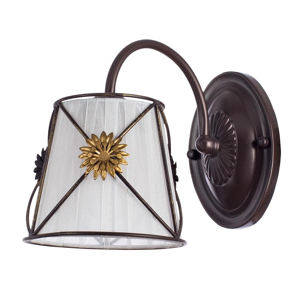 лучшая цена Бра Arte Lamp A5495AP-1BR, коричневый