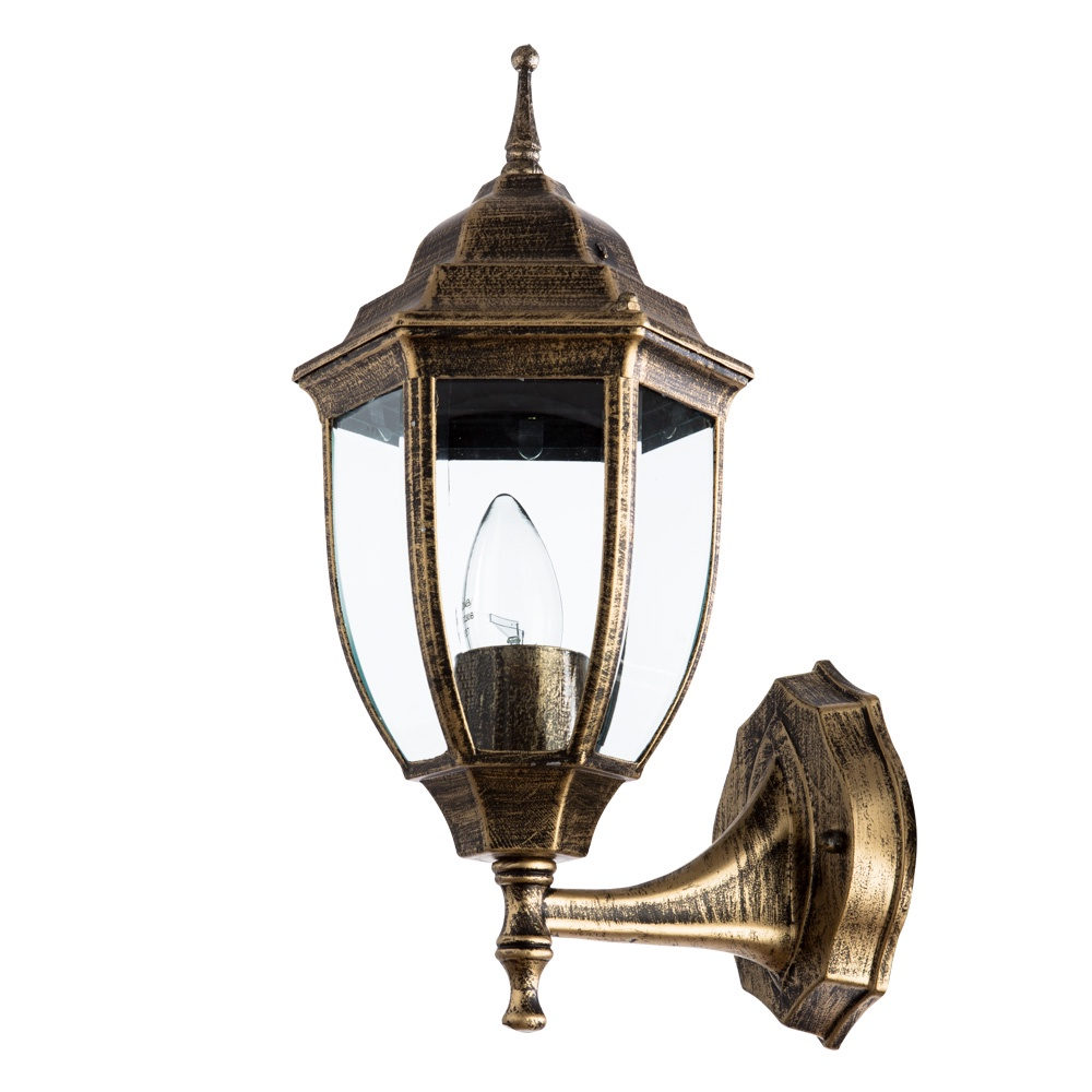Уличный светильник Arte Lamp A3151AL-1BN, черный уличный подвесной светильник arte lamp genova a1205so 1bn