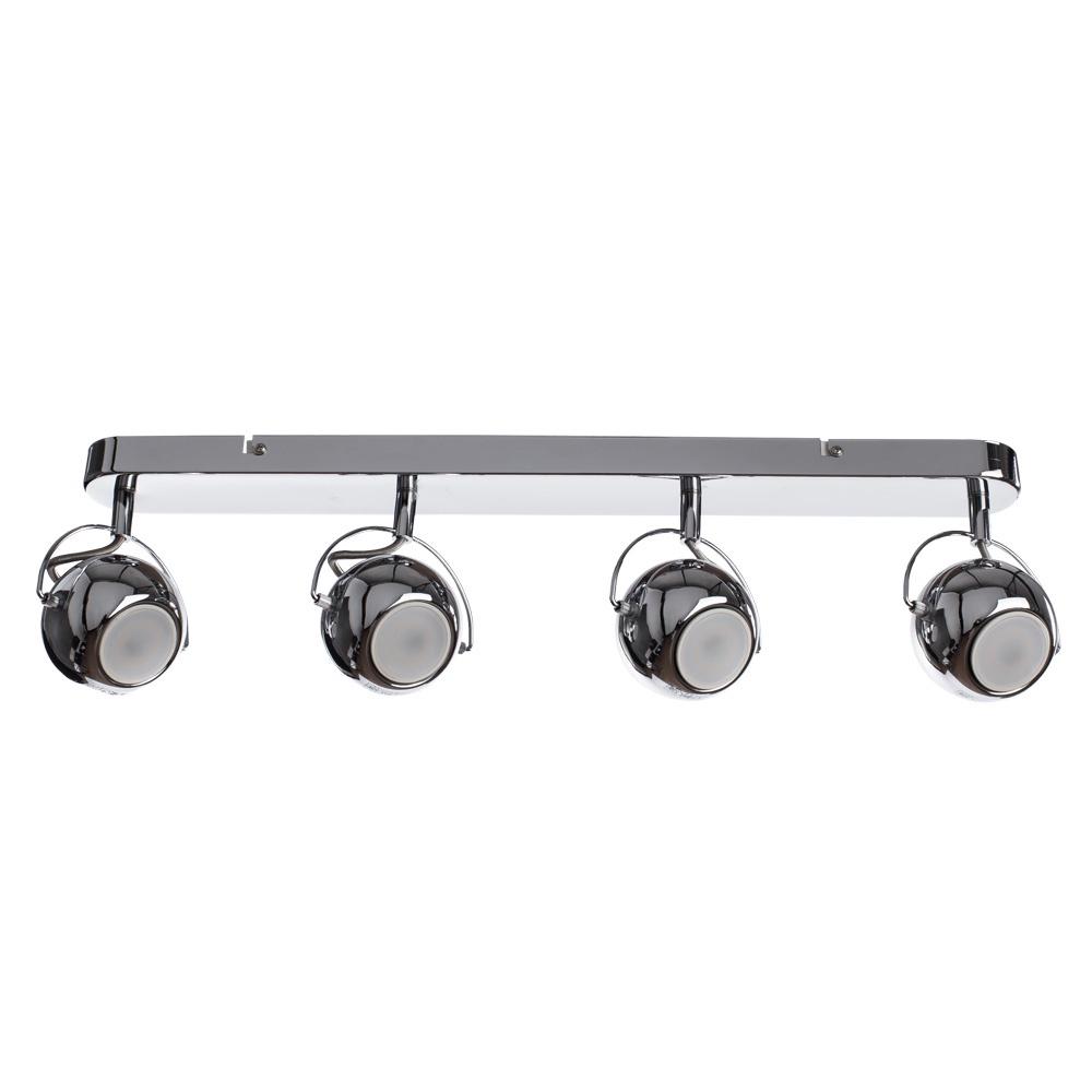 Настенно-потолочный светильник Arte Lamp A9128PL-4CC, серый металлик arte lamp светильник потолочный a5085pl 4cc
