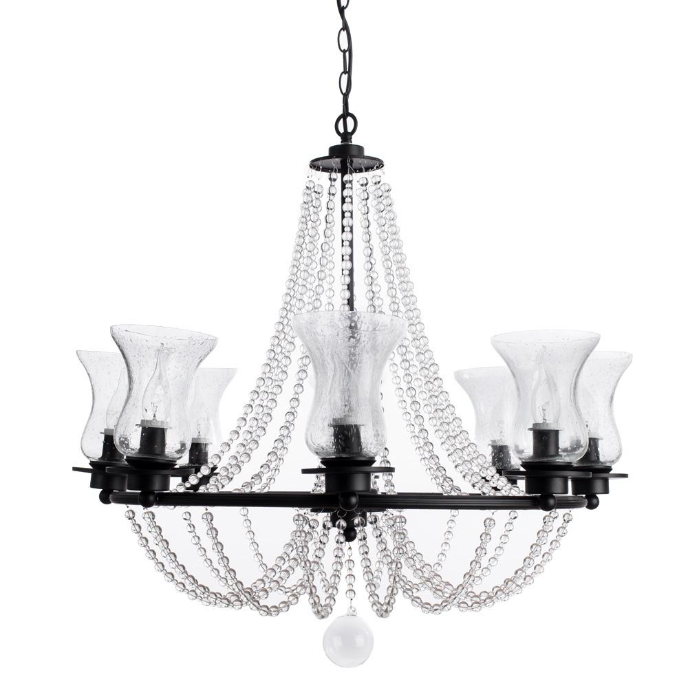 Подвесной светильник Arte Lamp A6586LM-8BK, черный