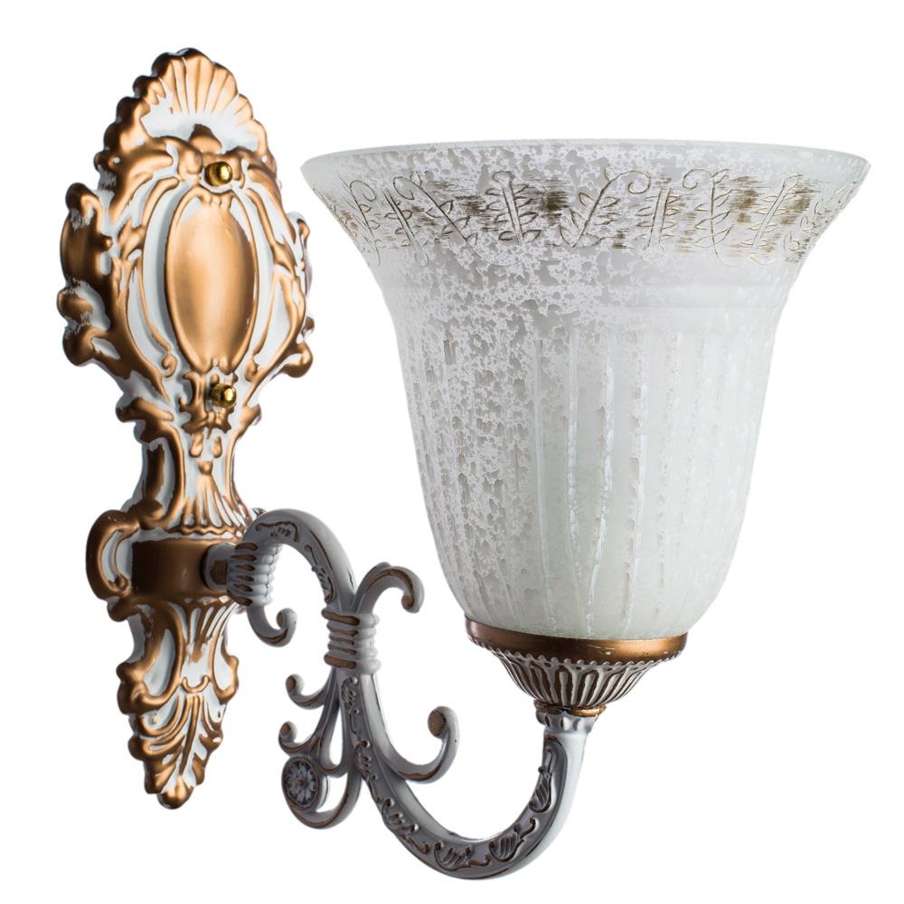 Бра Arte Lamp A1032AP-1WG, E27, 60 Вт