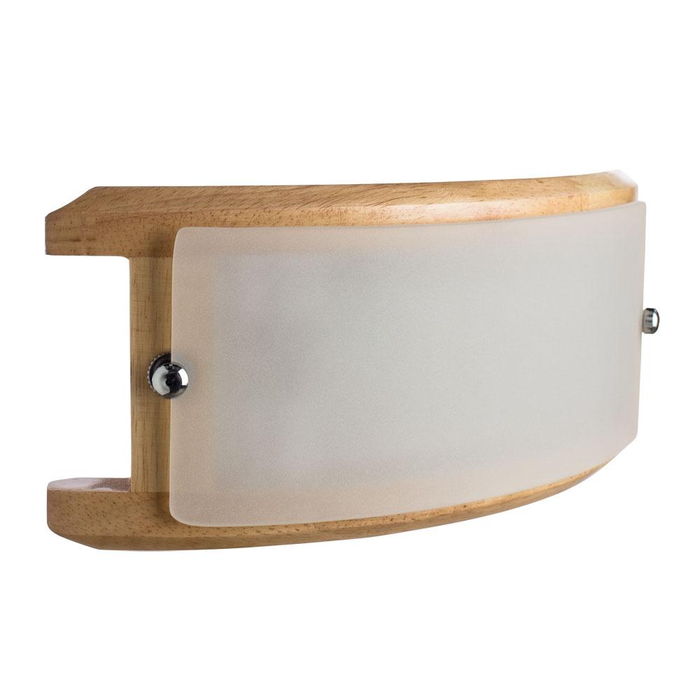 все цены на Настенный светильник Arte Lamp A6460AP-1BR, коричневый онлайн
