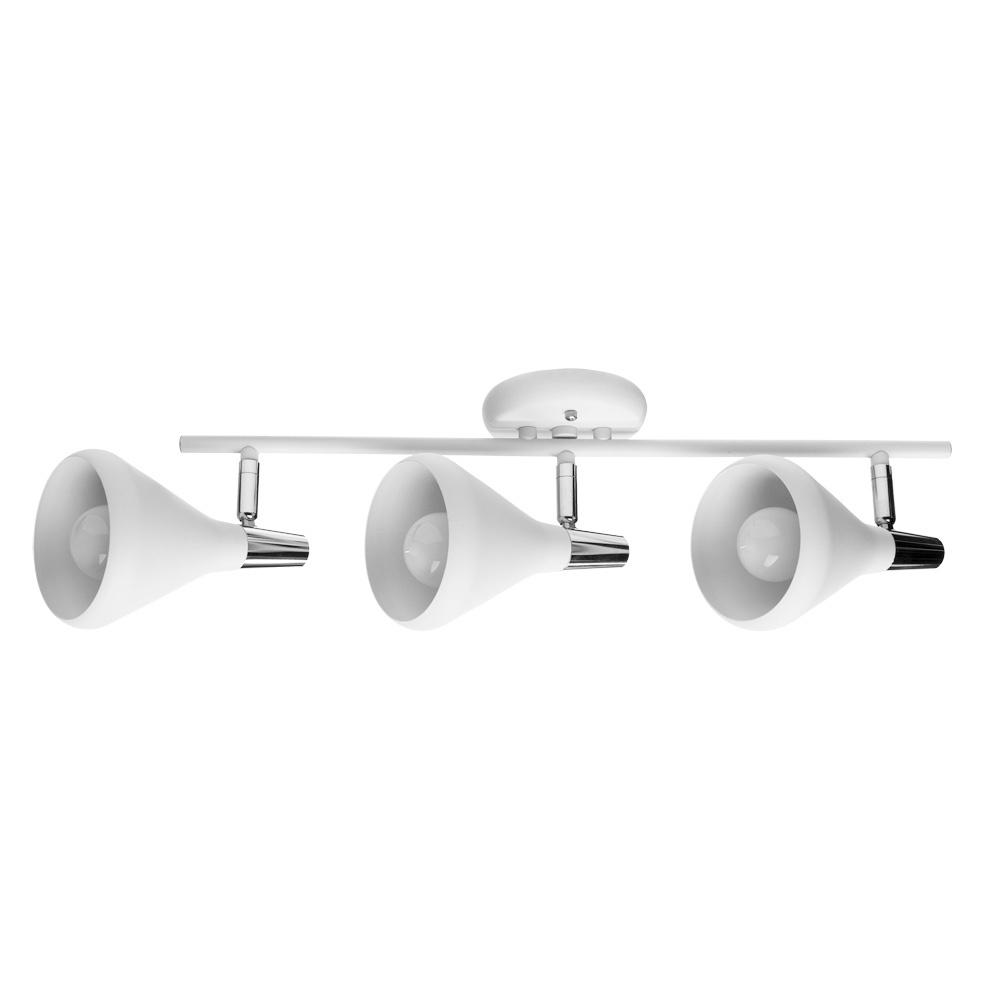купить Настенно-потолочный светильник Arte Lamp A9154PL-3WH, E14, 40 Вт по цене 3600 рублей