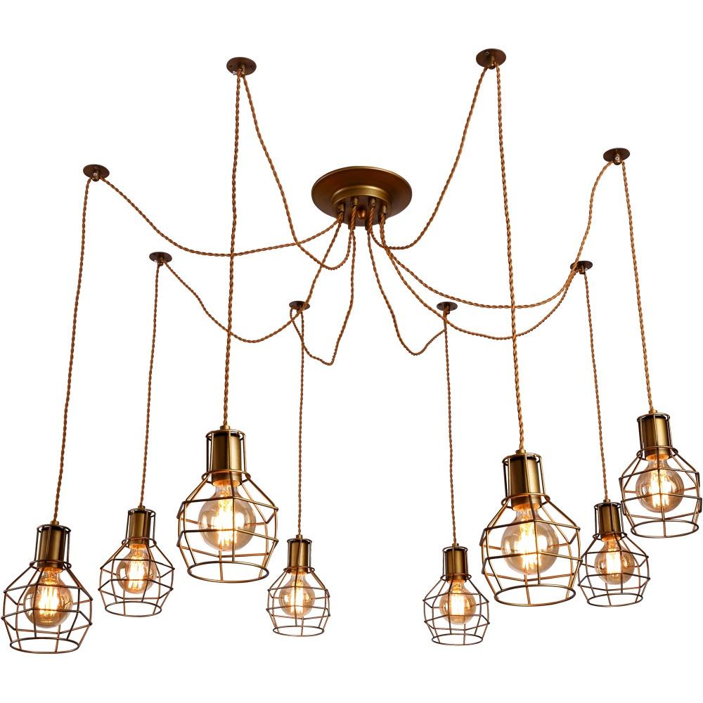 Подвесной светильник Arte Lamp A9182SP-8BZ, E27, 40 Вт цена 2017