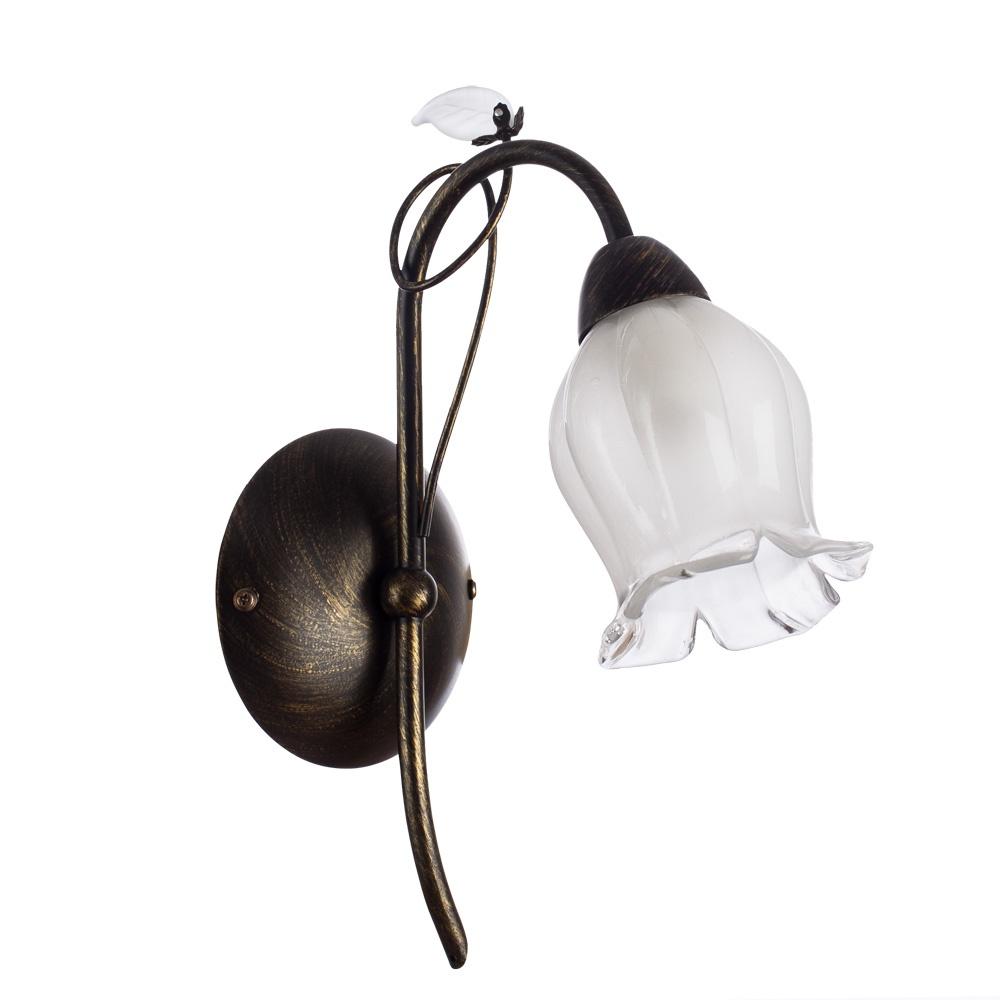 Бра Arte Lamp A7449AP-1BR, коричневый