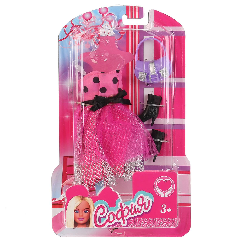 Одежда для кукол Карапуз 66243-1-S-BB куклы и одежда для кукол wei tai toys кукла с аксессуарами 35 см wtt6407
