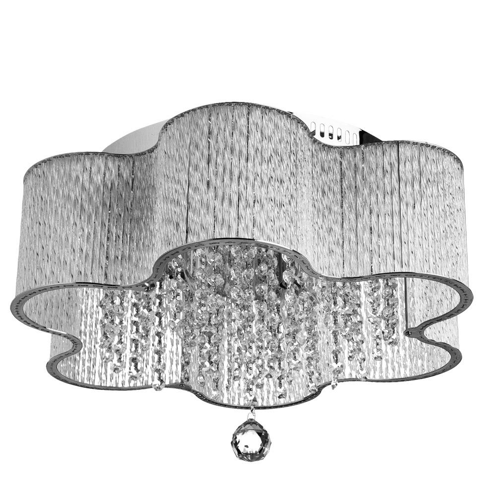 Потолочный светильник Arte Lamp A8565PL-4CL, серый металлик цены