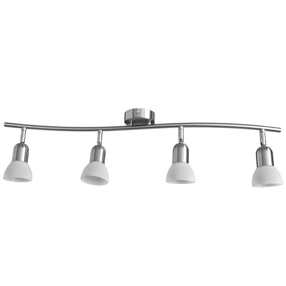 Настенно-потолочный светильник Arte Lamp A3115PL-4SS, серебристый цена