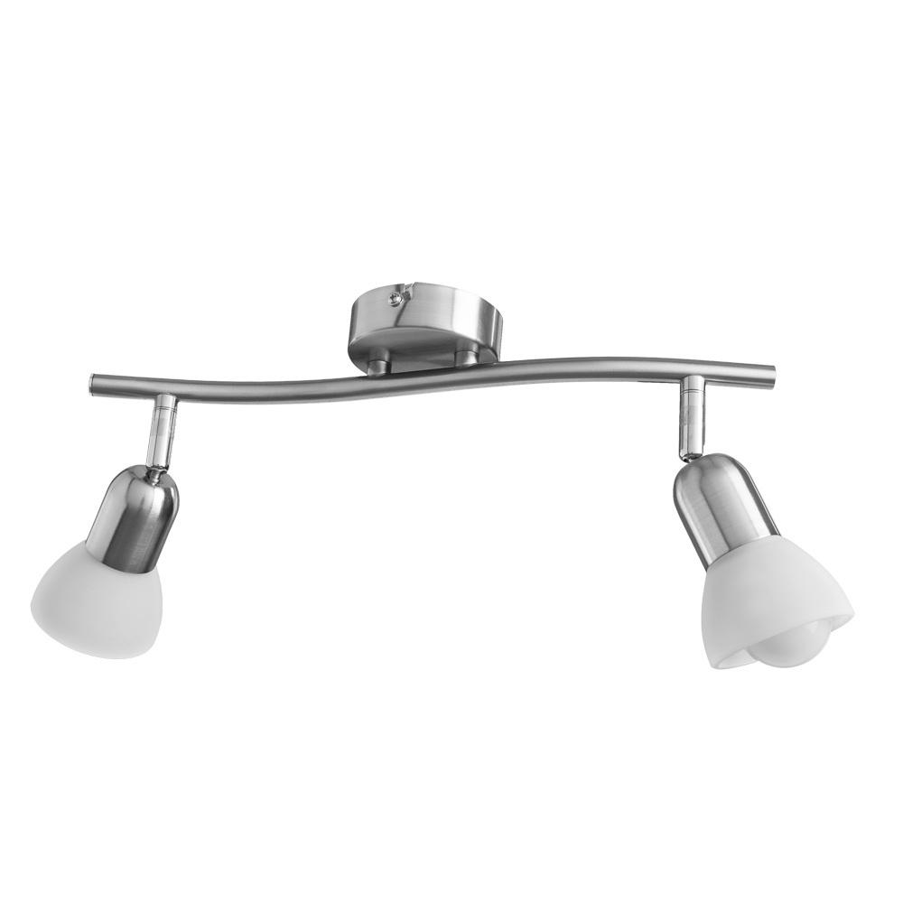Настенно-потолочный светильник Arte Lamp A3115PL-2SS, серебристый цена