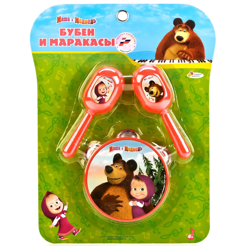 Музыкальная игрушка Играем вместе B607108-R музыкальные игрушки маша и медведь набор музыкальных инструментов gt5844