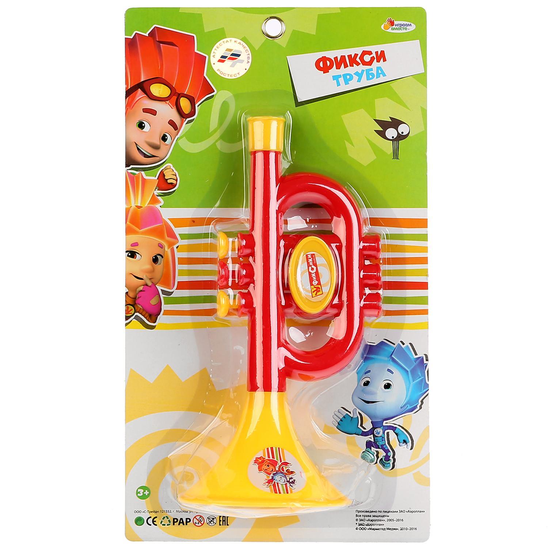 Музыкальная игрушка Играем вместе B782628-R1 детский музыкальный инструмент играем вместе труба фиксики b782628 r1