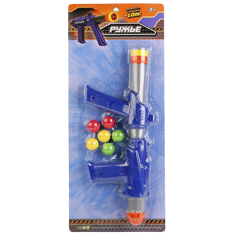 Ружье игрушечное Играем вместе B1493578-R ружье играем вместе ружье с шариками синий серебристый b1493578 r