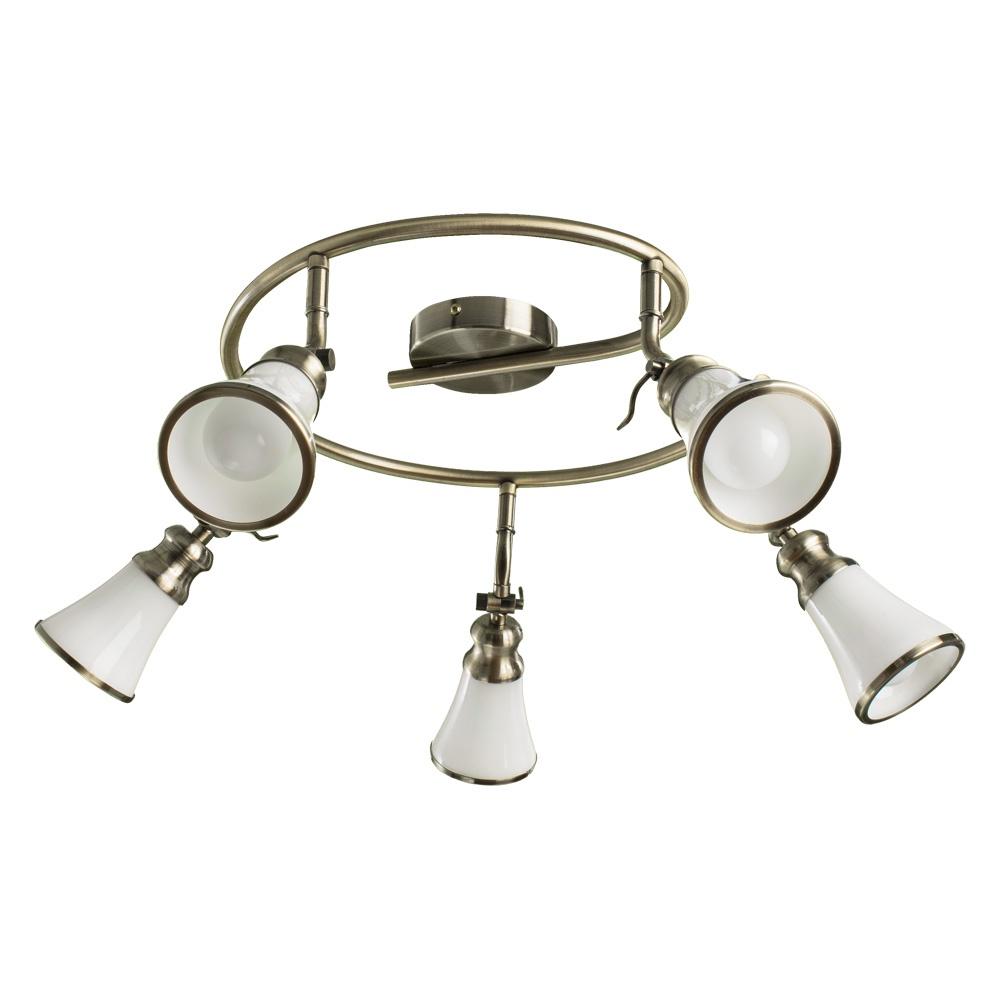 Настенно-потолочный светильник Arte Lamp A9231PL-5AB, E14, 40 Вт