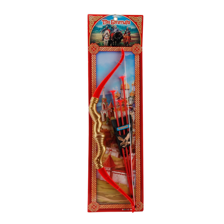 Лук игрушечный Играем вместе B289070-R3 играем вместе лук три богатыря со стрелами на присосках