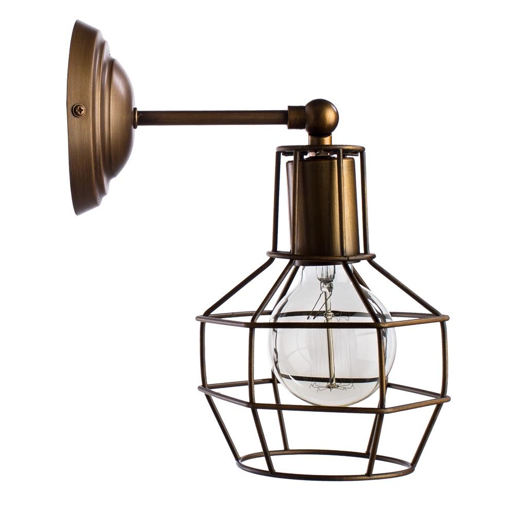 Бра Arte Lamp A9182AP-1BZ, E27, 40 Вт цена 2017