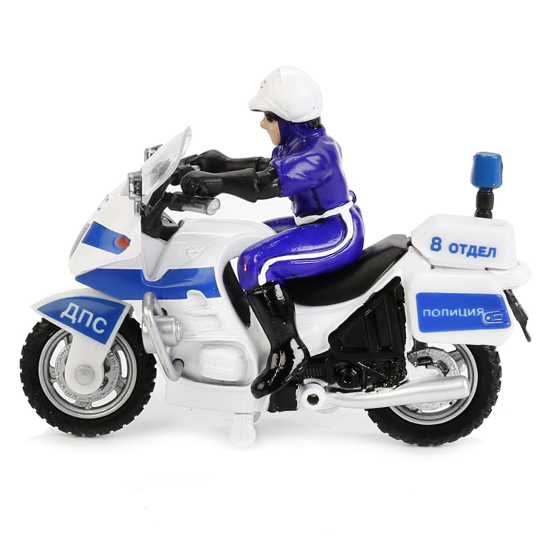 """Мотоцикл """"Технопарк"""" Дпс Полиция, С Полицейским"""