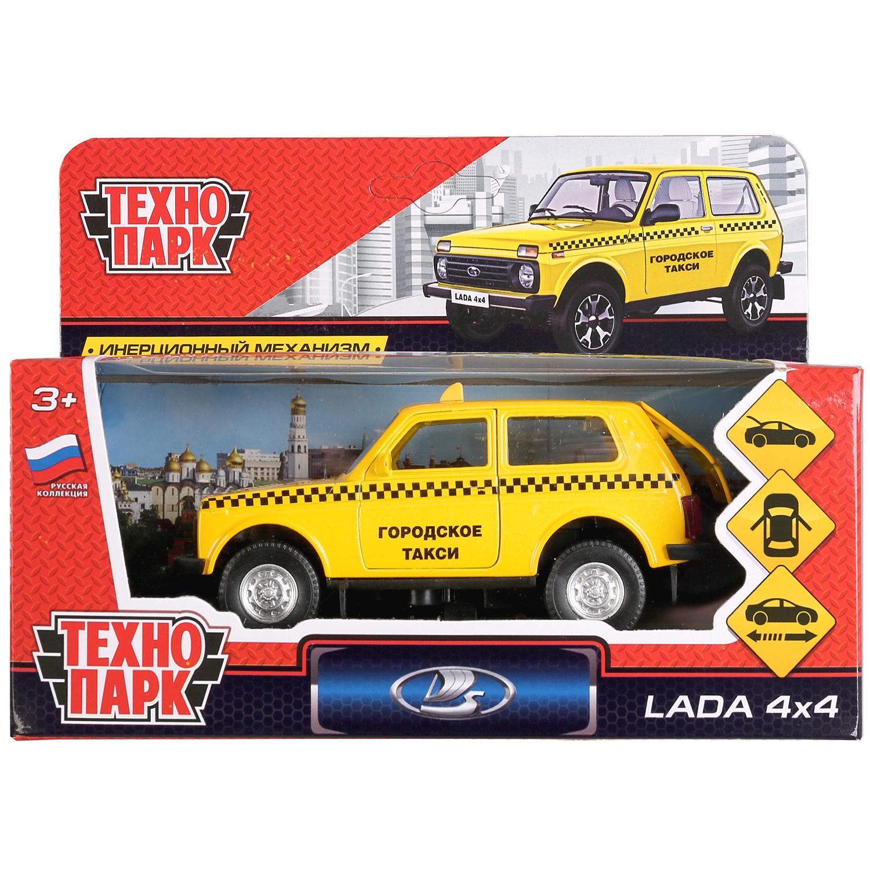 Машинка Технопарк LADA4X4-T