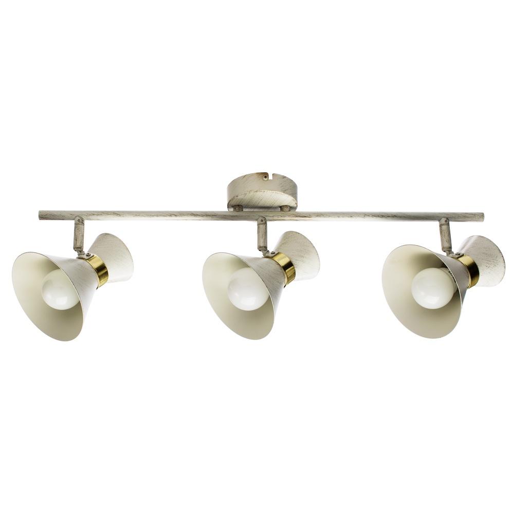 Настенно-потолочный светильник Arte Lamp A1406PL-3WG, E14, 40 Вт
