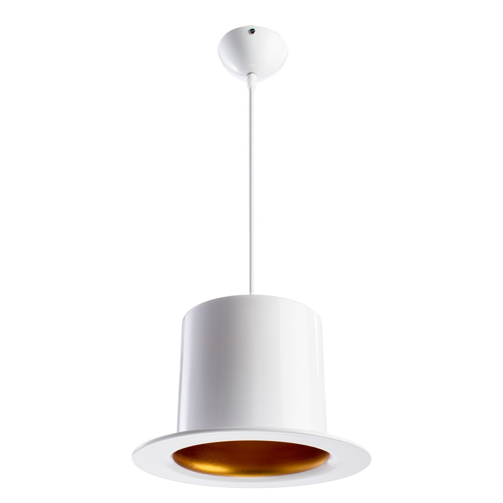 Подвесной светильник Arte Lamp A3236SP-1WH, белый цена 2017
