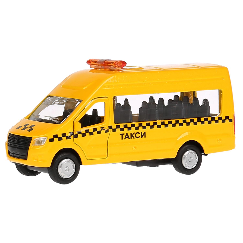 Машина металл ГАЗ Газель NEXT такси 12см, Технопарк playsmart play smart автопарк инерц машина со светом и звуком откр дверь газель 3221 такси 23см р40530