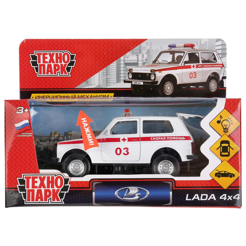 Машинка Технопарк LADA4X4-AMB-SL