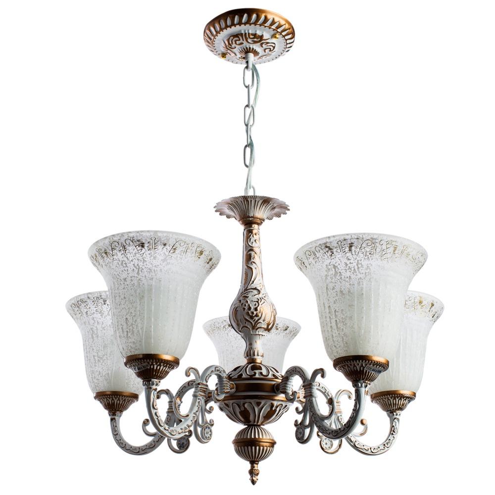 Подвесной светильник Arte Lamp A1032LM-5WG, E27, 60 Вт arte lamp люстра подвесная arte lamp a1032lm 5wg