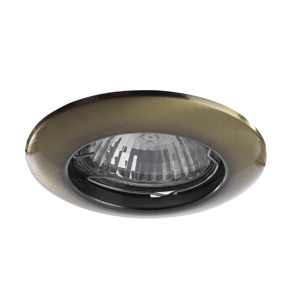 Встраиваемый светильник Arte Lamp A1203PL-1AB, бронза