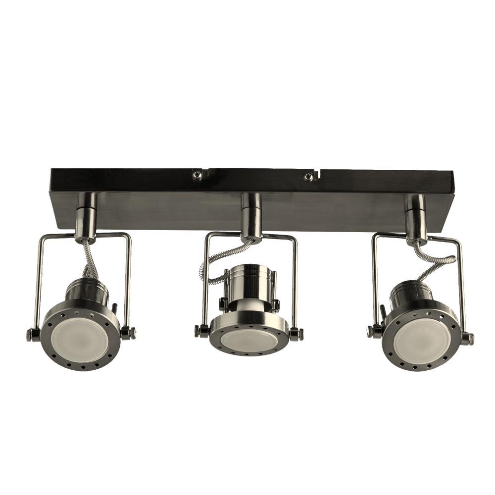 Настенно-потолочный светильник Arte Lamp A4300PL-3SS, GU10, 50 Вт arte lamp потолочный светильник arte lamp a4300pl 4ab