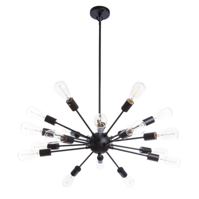 цена Подвесной светильник Divinare 5010/01 SP-18, черный в интернет-магазинах