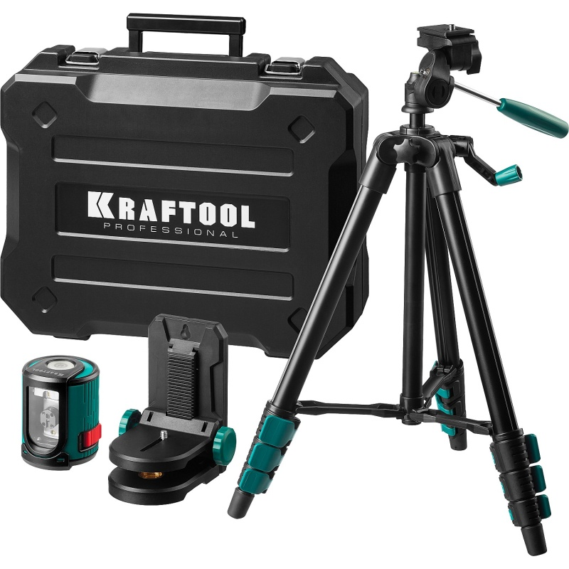Лазерный уровень/нивелир KRAFTOOL 34700-4