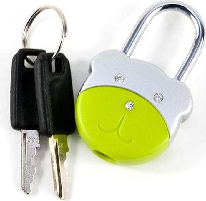 Брелок-замок Munkees Медвежонок, с ключами, цвет: зеленый3602Брелок - Замок Медвежонок с ключами. По мимо функции брелока, этот замок всегда выполнит свою основную функцию и поможет надежно запереть рюкзак, сумку, или другие личные вещи. А еще он милый и у него инкрустированы хрусталики в носик и глазки.MUNKEES® - FUN & FUNCTION*THE ORIGINAL** - Гарантия качества оригинальных MUNKEES!Размеры: 51х33х14,6ммКомплектация: 2 ключа.Цвет: Светло-зелено-серебристый Арт.: 3602* Весело и функционально.** Оригинальный продукт.
