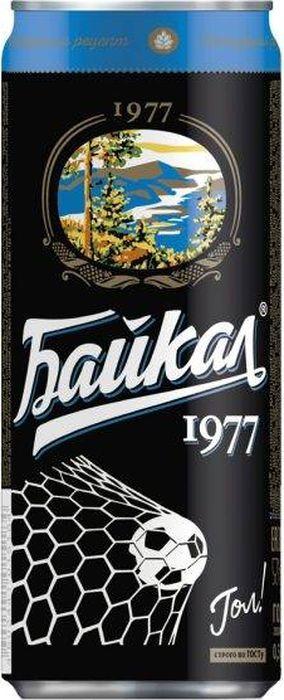 Газированный напиток Байкал 1977 Байкал, 12 шт по 330 мл