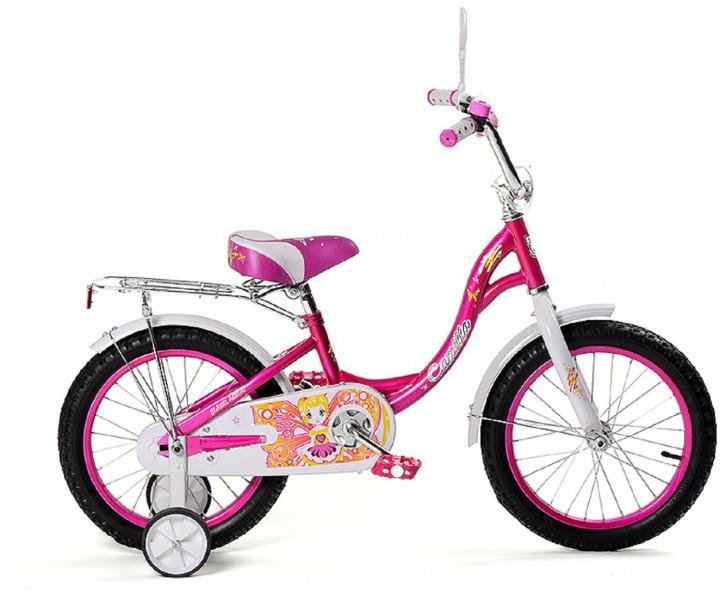 Велосипед детский Black Aqua Camilla, KG2017, со светящимися колесами, колесо 20, розовый