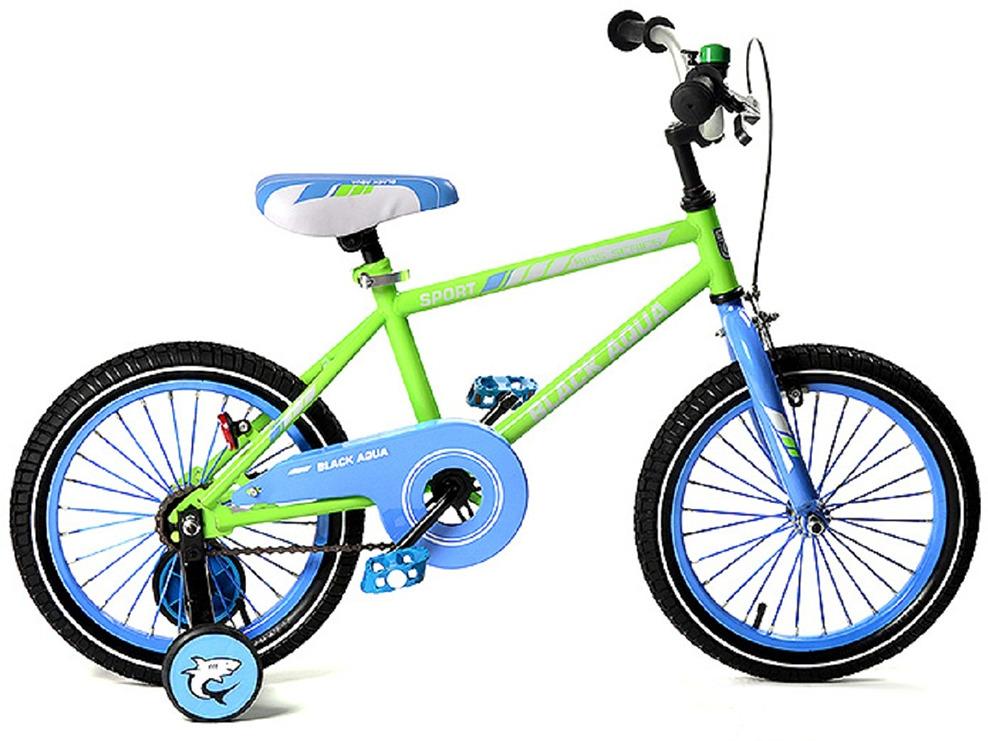 Велосипед детский Black Aqua Sport, KG1623, колесо 16