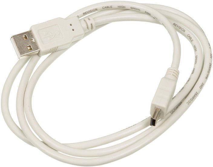 Кабель Ningbo, 1 м, серый кабель usb2 0 ningbo usb a m mini usb b m 1 8м серый [usb2 0 m5p]