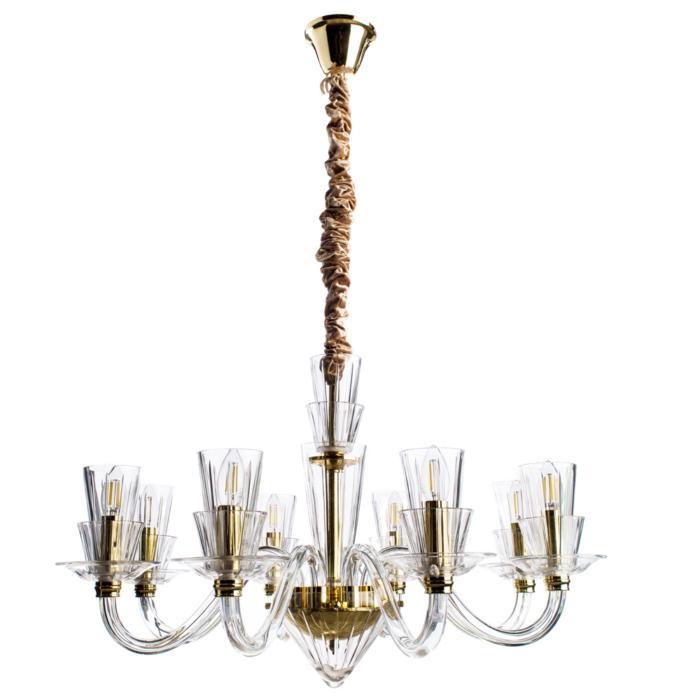 Подвесной светильник Divinare 5122/09 LM-8, золотой цена