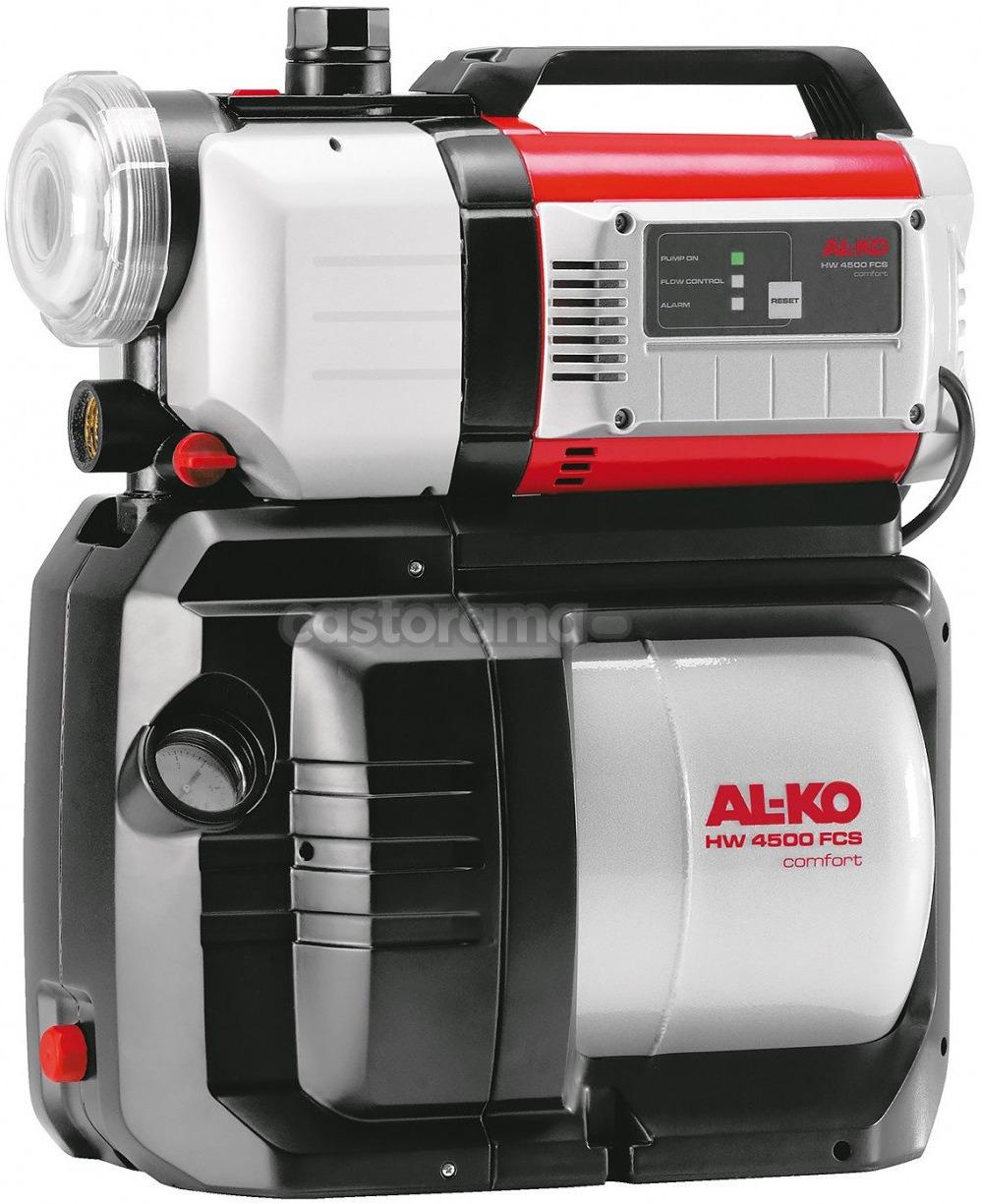 цена на Насосная станция AL-KO HW 4500 FCS Comfort, 112850, серый, черный, красный